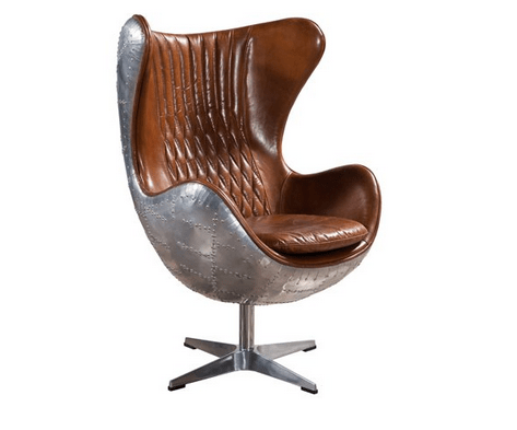 Aviator Egg Chair Aluminum